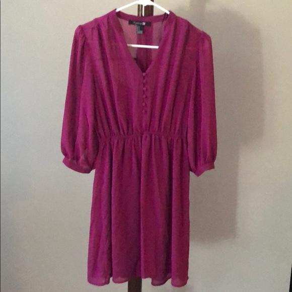 Forever 21 Dresses & Skirts - Forever 21 pink/purple dress.